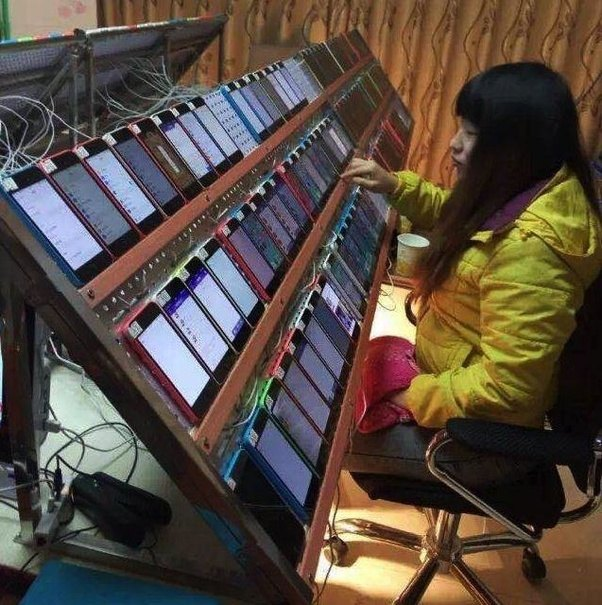 Inside a Chinese Click-Farm